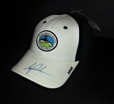 Tiger Woods Hand Signed AT&T Pebble Beach National Pro-Am Golf Cap Autograph PSA