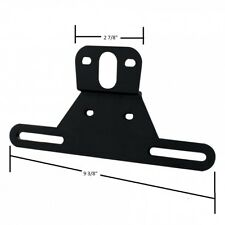 Trailer RV Camper License Plate Bracket Plastic