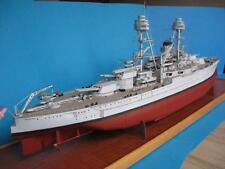 Modelik 29/10 - US Battleship USS OKLAHOMA (1930)  scala 1:200 with Lasercut