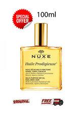 NUXE  Huile Prodigieuse Multi-Purpose Dry Oil  - FACE - BODY - HAIR  100ml