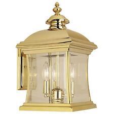 Hampton Bay Brass Lantern Outdoor Wall & Porch Lights | eBay