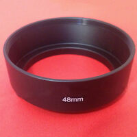 48mm LENS HOOD Cover+CAP for Canon Canonet QL17 GIII &