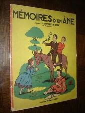 MEMOIRES D'UN ÂNE - D'après la Comtesse de Ségur - Ill. J.-Y. Mass et R. Collot