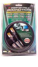 Monster Cable 800HD Advanced High Speed HDMI Cable for HDTV - 13 Ft - 15.8 Gbps