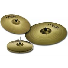 PAISTE 101 BRASS UNIVERSAL SET PIATTI PER BATTERIA HI HAT 14'' CRASH 16'' RIDE