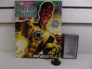 EAGLEMOSS Figure & Magazine Classic DC Super Hero Collection #28 Sinestro