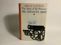 The Army of the Potomac:  Mr. Lincoln's Army by Bruce Catton Hardcover 1962  USA