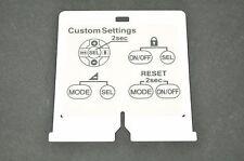 NIKON SPEEDLIGHT SB-800 SB800 White Sheet Repair Part DH8165