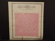 North Dakota Bottineau County Map Peabody Township  1910 Q6#63