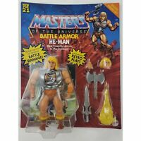 Masters of The Universe Origins Deluxe Battle Armor He-Man 5.5-in Action Figure