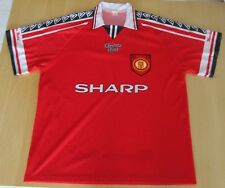 ANCIEN MAILLOT FOOTBALL  SHARP BECKHAM MANCHESTER UNITED