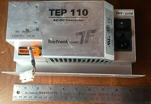 TeleFrank Power Supply AC-DC Converter TEP110-24 24VDC 4A Made in Germany 02033