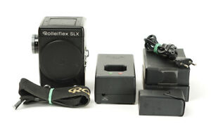 Rolleiflex SLX Camera 6x6 Body No.4805865 with Battery Charger and Strap