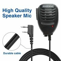 HAND SPEAKER MICROPHONE PTT FOR BAOFENG UV-5R UV-82 WALKIE TALKIE TWO WAY RADIOS
