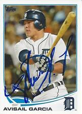 Avisail Garcia Detroit Tigers 2013 Topps Signed Rookie Card
