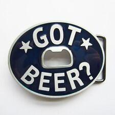 NEW BLUE STARS  BOTTLE OPENER GOT BEER DRINK BELT BUCKLE