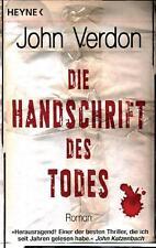 Die Handschrift des Todes von John Verdon (2010, Taschenbuch)