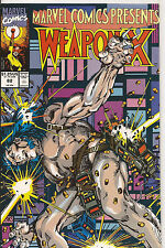 MARVEL COMICS PRESENTS # 82 * WOLVERINE WEAPON X * BARRY WINDSOR SMITH art