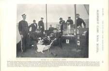 1897 Hospital Tent Aldershot Camp Nova Scotia French Army General Billot