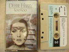 CASSETTE DEBBIE HARRY KOOKOO rare paper label 2 tone ZCHR 1347