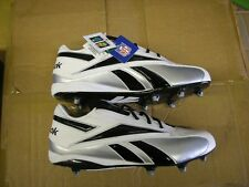 NEW REEBOK NFL THORPE LOW D Football Cleat Size 16 Black Lacrosse Cleats