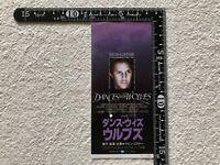 Movie Ticket Stub Dances with Wolves 1991 Kevin Costner Japan Rare