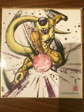 Dragon BALL SHIKISHI ART PART .3 No.8 Congelatore D'ORO Giappone F/S