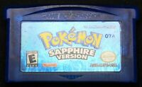 Pokemon Sapphire Version - Nintendo GameBoy Advance - GBA - Authentic