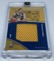 GOGA BITADZE 2019-20 Panini Instant Rookie Kicks RC Nike Shoe Patch #2/28 Pacers