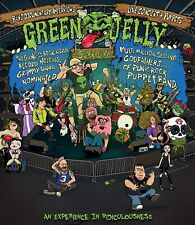 GREEN JELLY JELLO New 2021 PERFORMANCES, TOUR FOOTAGE & MORE BLU RAY Preorder