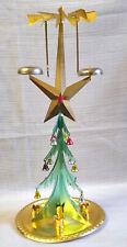 Vintage christmas tree. Soviet New Year's souvenir. Christmas ornament USSR