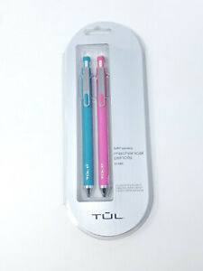TUL Mechanical Pencils - Teal & Pink 0.7mm - New Sealed