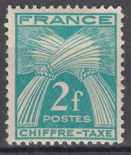 FRANCE TIMBRE TAXE NEUF N° 72 *  TYPE GERBES