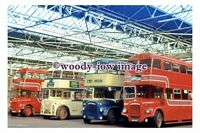 gw0651 - Buses in Leicester Ave Depot - photograph