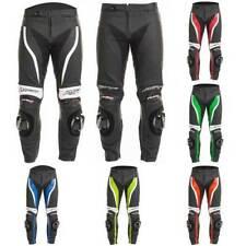 Pantalon RST en cuir pour motocyclette