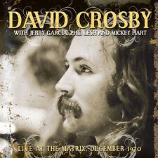 DAVID CROSBY - Live At The Matrix, December 1970. New LP + sealed