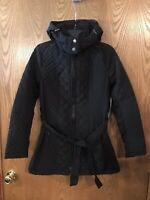 Sebby Collection  Removable Hooded Quilted Womens  Jacket Coat Medium NWT
