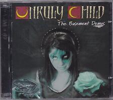 Unruly Child-Basement Demos * CD + DVD * neu&ovp/SEALED!