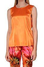 Damen-Blusen Damenblusen, - tops & -shirts mit Rundhals-Ausschnitt aus Seide