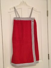TOMMY HILFIGER Red Bath Wrap. Women's Size Small/Medium. NEW.