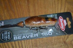 "Berkley Beaver 160 Wake Bait Topwater Bait 6-2/7""  1-1/5oz. (Brown) NIB"