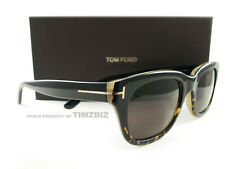 Tom Ford Sunglasses TF237 Snowdon 05J Black Havana Honey FT0237/S New Authentic