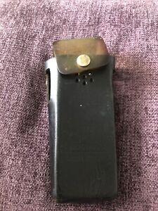 Prison Service Leather Radio Case