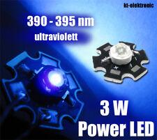 3W Power LED UV 390nm 700mA 45*45mil Chip ultraviolett Starplatine