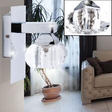 Wand Lampe Wohn Zimmer Beleuchtung Lese Spot G9 Glas Strahler Leuchte Big Light