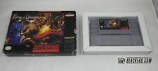King of Dragons (Super Nintendo Entertainment System) CART + BOX Authentic! SNES