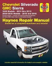 Repair Manual fits 2014-2016 GMC Sierra 1500 Sierra 2500 HD Sierra 2500 HD,Sierr