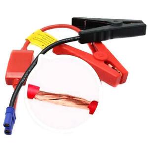 Car Jump Starter EC5 Connector Emergency Lead Cable Battery Alligator Clamp 12V