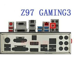 OEM I/O IO Shield For MSI Z97 GAMING 3,H97 GAMING 3 Backplate Bracket 1PC NEW