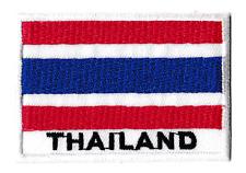 Patch écusson patche drapeau Thai THAILANDE 70 x 45 mm brodé thermocollant